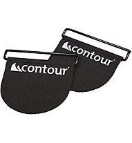 Contour Easy Tip Buckle - gancio per pelli, Black
