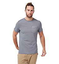 Craghoppers NosiLife Ina Short SL - Trekkingshirt - Herren, Blue