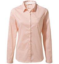Craghoppers NosiLife Verona - camicia a maniche lunghe - donna, Pink