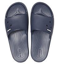 Crocs Crocband III Slide - Schlappen, Blue/White