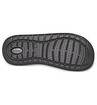 Crocs LiteRide Slide - Sandalen, Black/Grey