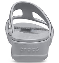 Crocs Monterey Metallic SlipOn Wdg W - Sandalen - Damen, Grey