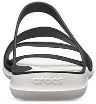 Crocs Swiftwater Sandal W - Sandalen - Damen, Black/White