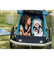 Croozer Baby seat kid - seggiolino - bambino, Light Blue