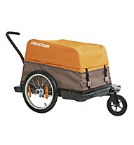 Croozer Cargo Fahrradanhänger, Sunset orange/Grey