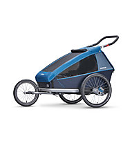 Croozer Kid Plus for 2 (2018) - Fahrradanhänger, Blue