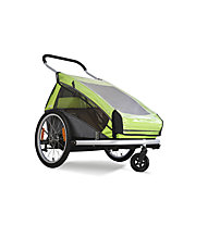 Croozer Regenverdeck Kid for 2/ Kid Plus for 2 2014, Transparent