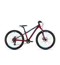 Cube Access 240 Disc (2019) - MTB hardtail - bambino, Pink/Blue