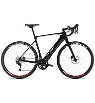 Cube Agree Hybrid C:62 Race Disc (2019) - bici da corsa elettrica, White/Black