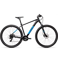 Cube Aim Pro (2021) - Mountainbike, Black/Blue