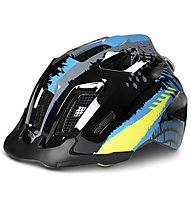 Cube Ant Black Blue - casco bici - bambino, Black/Light Blue