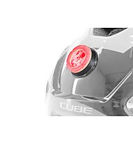 Cube Ant Red Splash - casco bici - bambino, Red