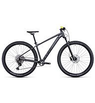 Cube Attention SL (2022) - MTB Cross Country, Grey/Yellow
