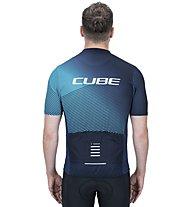 Cube ATX Full Zip - Radtrikot - Herren, Blue