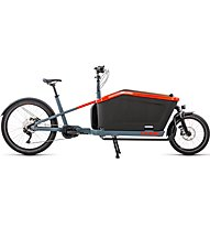 Cube Cargo Hybrid Sport (2021) - bici eCargo, Blue/Red