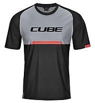 Cube Edge - Radtrikot MTB - Herren, Black/Grey