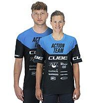 Cube Edge X Actionteam - Radtrikot MTB - Herren, Black/Blue