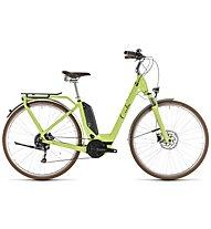 Cube Elly Ride Hybrid 500 (2019) - citybike elettrica - donna, Green/Black