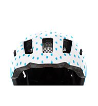 Cube Fink - casco bici - bambino, White
