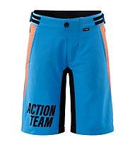 Cube Junior Baggy Shorts X Actionsteam - Radhose MTB - Kinder, Blue