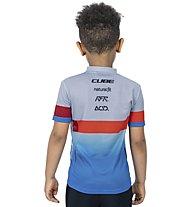 Cube Junior Teamline - Radtrikot - Kinder, Blue/Red