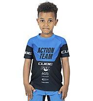 Cube Junior X Actionteam - Radtrikot MTB - Kinder, Blue/Black