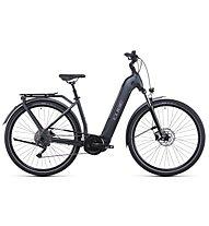 Cube Kathmandu Hybrid ONE 625 (2022) - bici da trekking elettrica - donna, Grey
