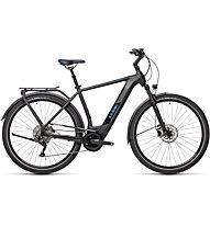 Cube Kathmandu Hybrid Pro 625 (2021) - bici da trekking elettrica, Black/Blue