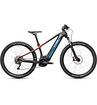 Cube Reaction Hybrid Rookie SL (2021) - eMTB - adolescenti, Black