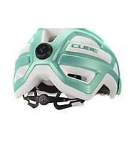 Cube Rook - casco mtb, Silver/Green