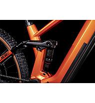 Cube Stereo Hybrid 140 HPC Pro 625 (2022) - eTrailbike, Orange/Black