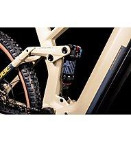 Cube Stereo Hybrid 140 HPC Race 625 (2022) - eMountainbike, Beige/Orange
