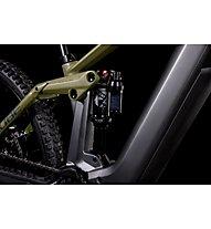 Cube Stereo Hybrid 160 HPC TM 27.5 (2022) - eMountainbike, Grey/Green