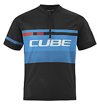 Cube Teamline - maglia bici - bambino, Black/Blue