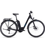 Cube Touring Hybrid ONE 500 Wave (2020) - bici da trekking elettrica - donna, Black