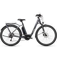 Cube Town Sport Hybrid ONE 400 (2021) - eCitybike, Grey