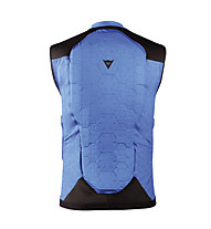 Dainese Flexagon Waistcoat Man - gilet con protezione, Blue