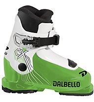 Dalbello CX 1.0 Jr - scarpone da sci - bambino, Green/White