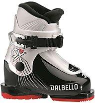Dalbello CX 1.0 Jr - scarpone da sci - bambino, Black/White