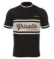 De Marchi Ghisallo Merino Jersey - maglia bici - uomo, Black/White