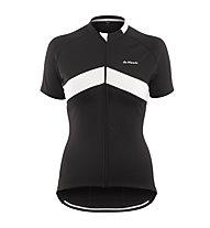 De Marchi Maglia bici Women's 4-Season Jersey, Black
