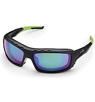 Demon Outdoor matt - Sportbrille, Black/Green