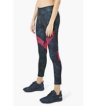 Desigual Block Denim - Fitnesshose - Damen, Blue