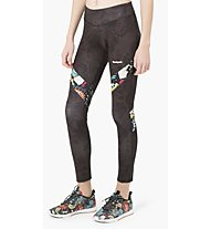 Desigual Block Metamorphosis - legging fitness - donna, Black/Multicolor