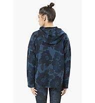 Desigual Sweat Hoodie Oversize Denim - felpa con cappuccio fitness - donna, Blue