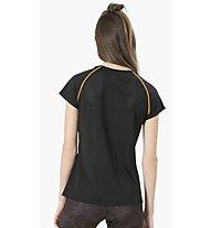 Desigual Training Metamorphosis - T-Shirt Fitness - Damen, Black/Multicolor