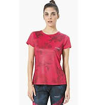 Desigual Set-in - T-Shirt Fitness - Damen, Pink