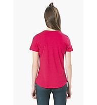 Desigual Essential - Langarm-Shirt Fitness - Damen, Pink