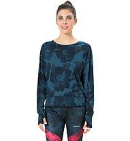Desigual Yoga Denim - Langarm-Shirt Fitness - Damen, Blue