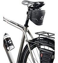 Deuter Bike Bag IV - borsa sottosella bici, Black